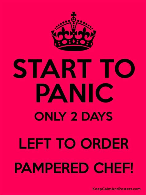 Day Two Began With A Visit To Chef Mickeys A C by Start To Panic Only 2 Days Left To Order Pered Chef Poster