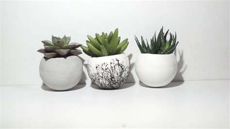 small planter round planter concrete planter small planters air plant