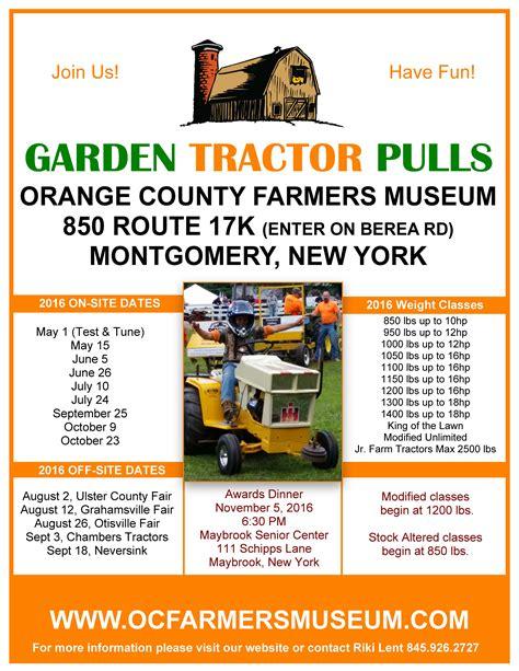 oc fair book report garden tractor pull club orange county farmers museum