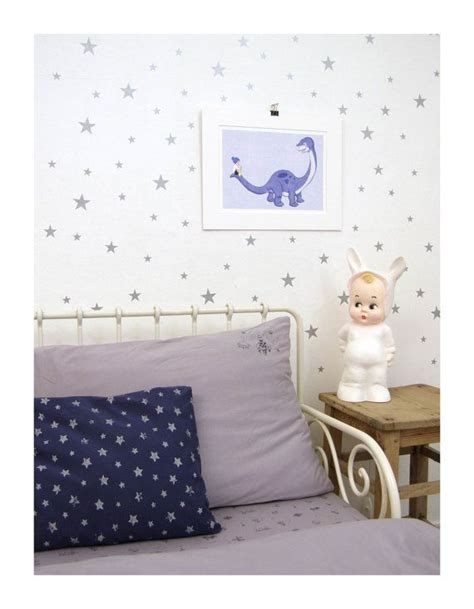 Silver Wall Stickers silver star wall decals mini star wall stickers silver