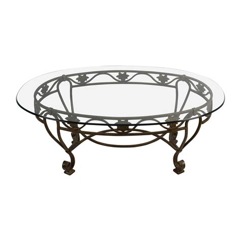 Cast Iron And Glass Coffee Table 90 Iron Cast Glass Top Antique Coffee Table Tables