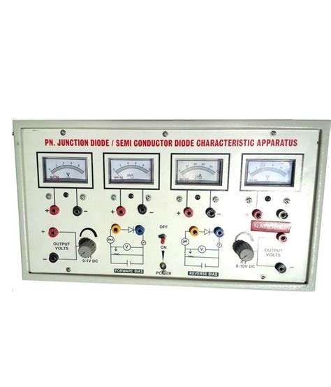 pn junction diode apparatus nsaw p n junction diode characteristics apparatus with four meters buy at best price in