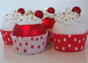 cupcake ornaments christmas ornaments by