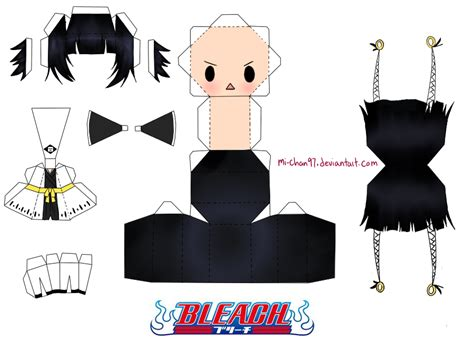 How To Make Papercraft Dolls - anime papercraft templates papercraft anime chibi