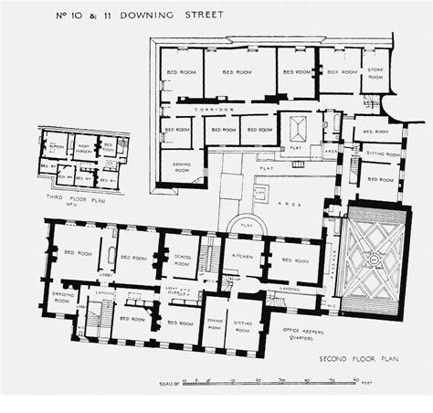 Floor Plan 3rd Street | houses of state downing street floor plans london 10