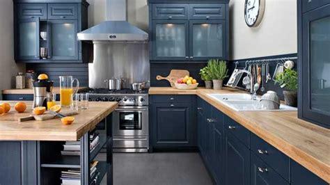 cuisine noir laqué plan de travail bois cuisine noir laque plan de travail bois