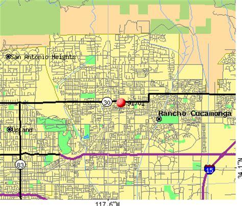 zip code map upland ca 91701 zip code rancho cucamonga california profile