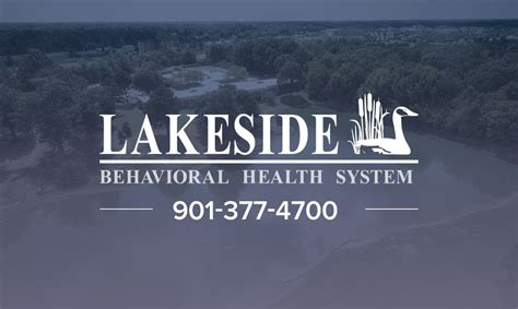 Lakeside Detox Tn by Treatment Lakeside Behavioral Health System