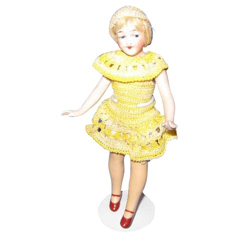 1920 bisque doll german all bisque flapper doll c 1920 s from glzrbug on