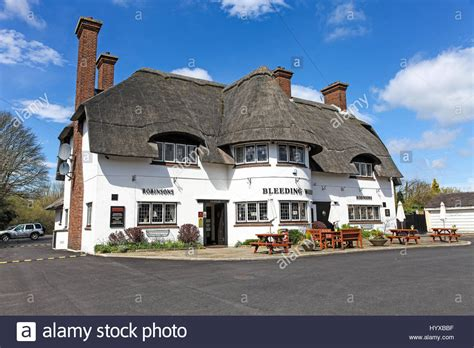 buying a grade 2 listed house the bleeding wolf is a grade ii listed public house or pub at stock photo royalty