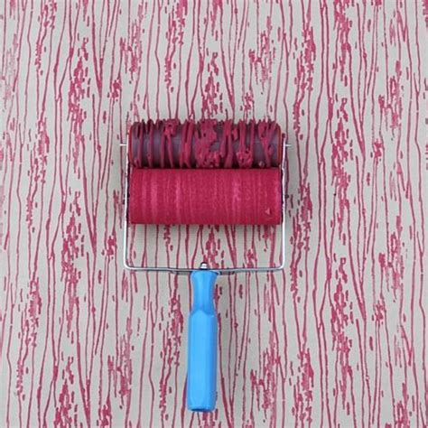 wood pattern paint roller wood grain patterned paint roller