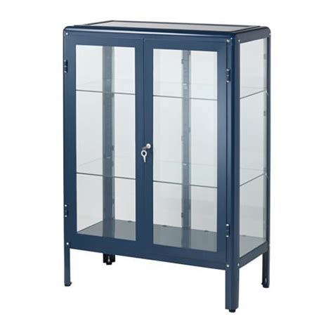 armoire vitrine ikea fabrik 214 r vitrine schwarzblau ikea