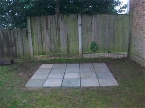 Shed Base Paving Slabs by Creating A Slab Base For Your Shed Or Summer House