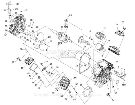 generac parts diagram generac 4582 1 parts diagram for engine