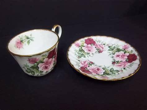collectible allyn nelson tea cup and saucer ebay
