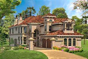 Italian Style House Plans by Italian Style House Plans 4281 Square Foot Home 2