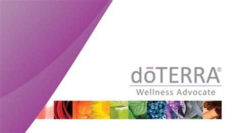 Doterra Gift Card - doterra business card design 3