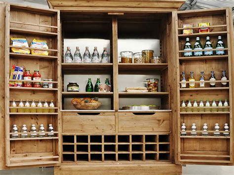 Free Standing Kitchen Pantry Cabinet Plans Cabinet Shelving Free Standing Pantry Cabinet For Kitchen Style Pantry Pantry Ideas