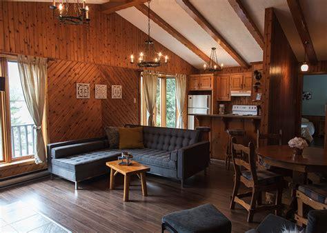 chalet chambre location chalet 2 chambres pour 4 laurentides chalets
