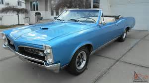 1967 Pontiac Gto Convertible For Sale 1967 Gto Convertible Original 400 Engine 4speed