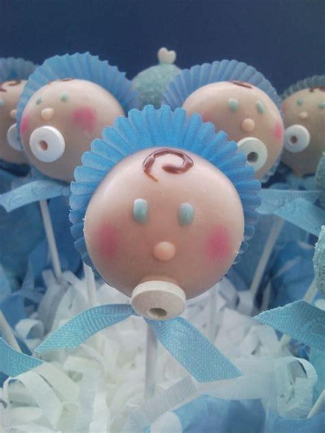 Boy Baby Shower Cake Pops by Baby Shower Cakes Boy Baby Shower Cake Balls