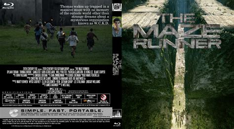 download film maze runner blue ray the maze runner blu ray dvd cover 2014 r0 custom art