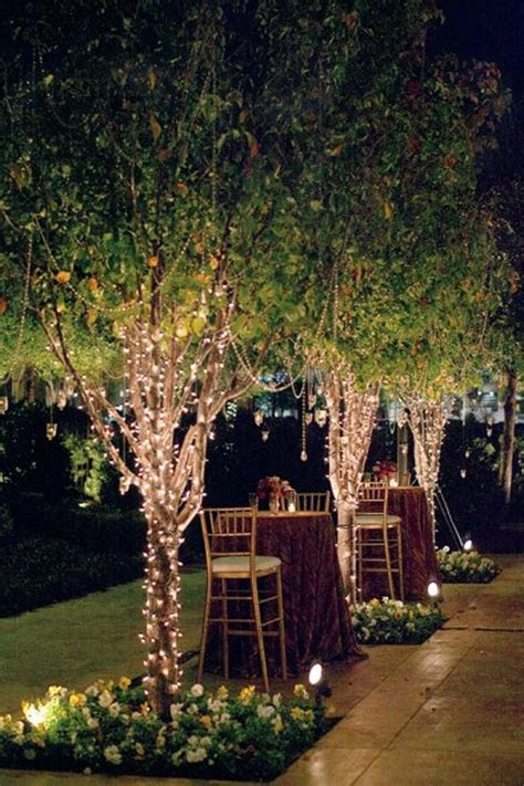 backyard wedding lighting ideas marceladick