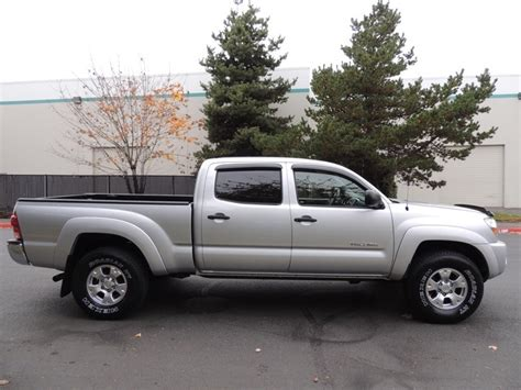 tacoma long bed 2005 toyota tacoma v6 4x4 double cab long bed 1 owner