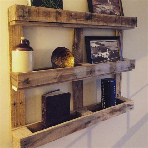 Pallet Shelf by Its Easy To Create Wooden Pallet Shelves Pallet Wood