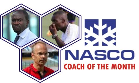 Epl Coach Of The Month | nominees for nasco player coach of the month award out