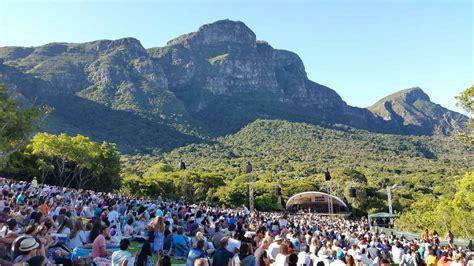 Kirstenbosch Botanical Gardens Concerts Kirstenbosch Summer Concerts Cape Town South Africa