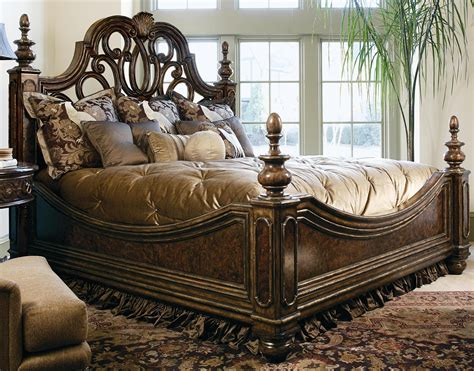 High Bed Set by 2 High End Master Bedroom Set Manor Home Collection