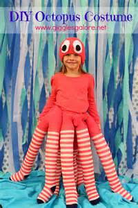 Handmade Costume - diy octopus costume