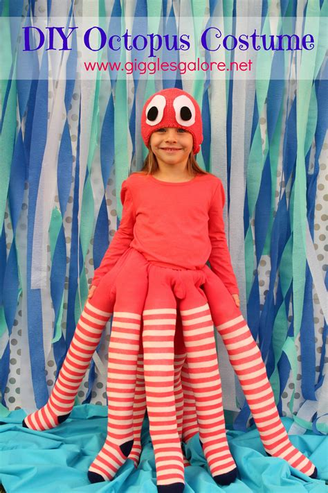 Handmade Costume - diy octopus costume