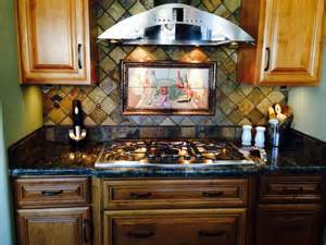 Mexican Tile Backsplash Kitchen Quot And Salsa Mexican Happy Hour Quot Painted Tiles