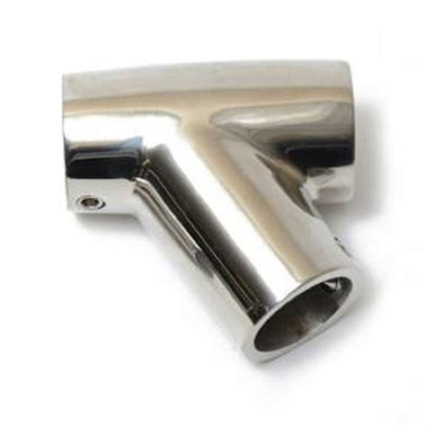 boat rail fittings stainless boat hand rail fitting 60 degree tee 7 8 quot new ebay