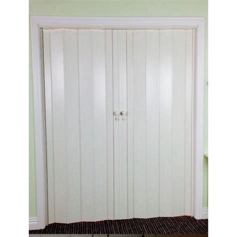 Folding Concertina Doors Interior Concertina Folding Door The President White Ash