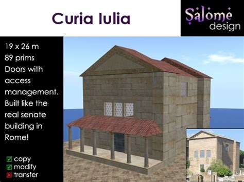 roman senate house second life marketplace curia iulia roman senate house bargain