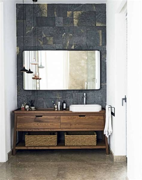 wood bathroom furniture 1000 ideas about vanity units on wall hung