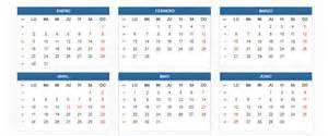Calendario 2018 Colombia Pdf Calendario Laboral 2017 Para Colombia Calendario 2017