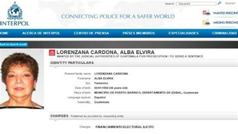 Interpol Warrant Search Interpol Issues Warrant For Guatemalan Media Baroness