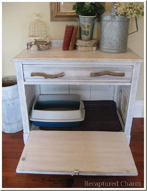 pallet outhouse cat litter cabinet top 10 ways to repurpose furniture for your pet top