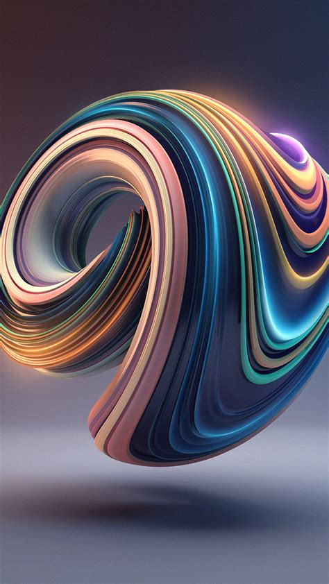 bb01 digital color circle illustration 3d wallpaper