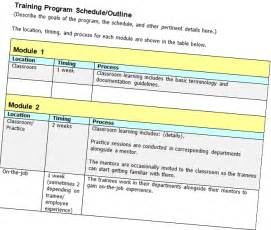 friday freebie training program schedule outline