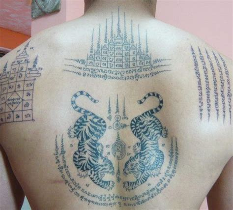 thai tattoos meanings and design sak yant tattoos ink the lord design and