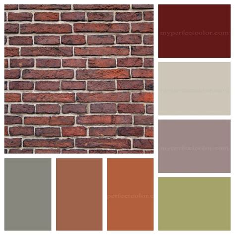 house paint colors that go with brick the dominant colours in the brick are the burghundy