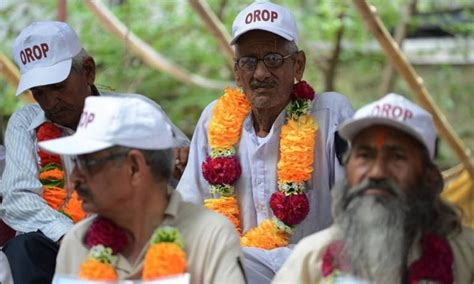 to demand implementation of the one rank one pension afpfile indian army veterans boycott 1965 war carnival over