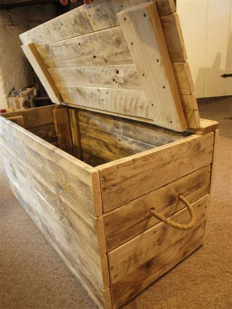 wooden blanket box ideas  pinterest wooden