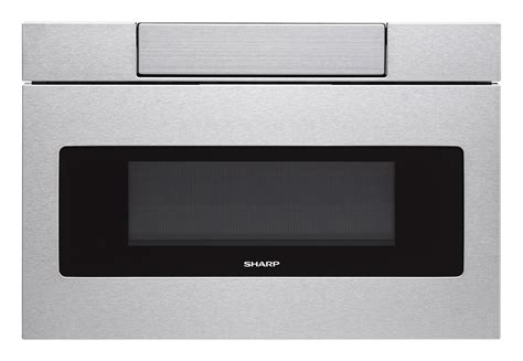 sharp microwave drawer sharp stainless 24 quot microwave drawer oven smd2470as