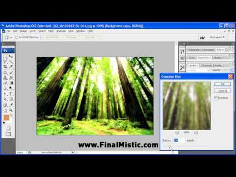 photoshop cs3 vignette tutorial photoshop cs3 tutorial dreamy effect youtube